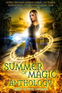 Image of the cover for the book Summer of Magic